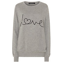 Buy Sugarhill Boutique Love Sweater, Grey Marl Online at johnlewis.com
