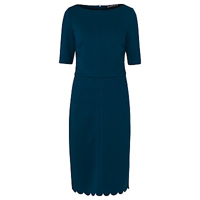 Sugarhill Boutique Albury Ponte Shift Dress, Teal