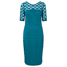 Buy Sugarhill Boutique Grace Lace Dress, Teal Online at johnlewis.com