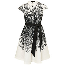 Buy Ted Baker Hoppe Illustrated Elegance Shirt Dress, Black Online at johnlewis.com