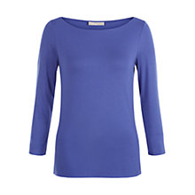 Buy Hobbs Sonya Top, Ultramarine Online at johnlewis.com