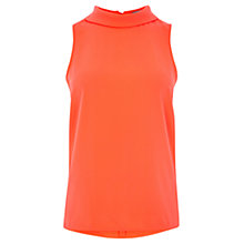 Buy Coast Queens Shell Top, Orange Online at johnlewis.com