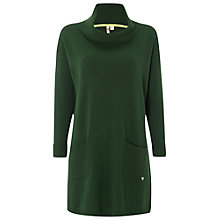 Buy White Stuff Drop Scone Tunic, Kale Green Online at johnlewis.com