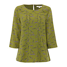 Buy White Stuff Adelane Top, Pear Green Online at johnlewis.com
