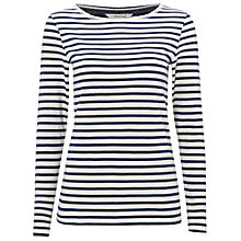 Buy White Stuff Florence Long Sleeve Stripe T-Shirt Online at johnlewis.com