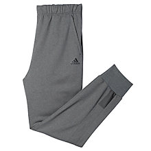 Buy Adidas Beyond the Run Tracksuit Bottoms, Dark Grey Online at johnlewis.com