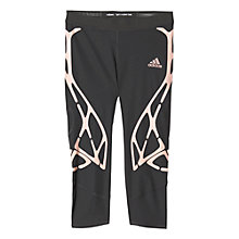 Buy Adidas Adizero Sprintweb 3/4 Length Tights, Utility Black Online at johnlewis.com