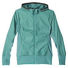 Buy Adidas Pure Amplify Women's Running Jacket, Vapour Steel Online at johnlewis.com