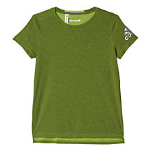 Buy Adidas Climachill Training T-Shirt, Rich Green Online at johnlewis.com