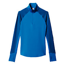 Buy Adidas Techfit Climawarm 1/4 Zip Top, Unity Blue Online at johnlewis.com