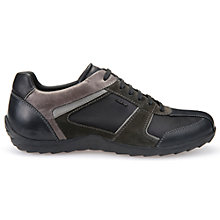 Buy Geox Pavel Trainers, Black Online at johnlewis.com