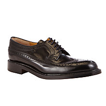 Buy JOHN LEWIS & Co. Made in England Leather Brogue Derby Shoes Online at johnlewis.com