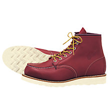 Buy Red Wing Moc Toe Boot, Oro-russet Portage Online at johnlewis.com