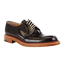Buy JOHN LEWIS & Co. Made in England Leather Derby Shoes, Black Online at johnlewis.com