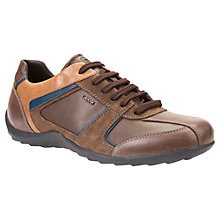 Buy Geox Pavel Trainers, Cigar Online at johnlewis.com