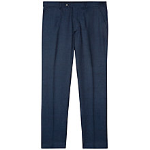 Buy Jaeger Washable Wool Slim Fit Suit Trousers, Navy Online at johnlewis.com