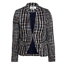 Buy Helene For Denim Wardrobe Pescegatoo Tweed Jacket, Multi Online at johnlewis.com