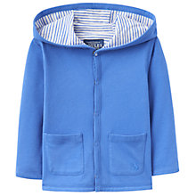 Buy Baby Joule Hooded Cuddle Jacket, Blue Online at johnlewis.com