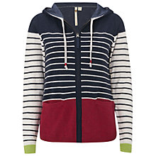 Buy White Stuff Stripe Hoodie, Pansy Pure Online at johnlewis.com