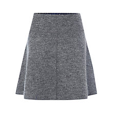 Buy White Stuff Bay Tree Short Skirt, Bell Grey Online at johnlewis.com