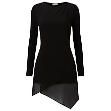 Buy Phase Eight Vinny Tunic, Black Online at johnlewis.com