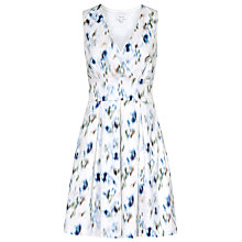 Buy Reiss Anabella V Neck Dress, Multi Online at johnlewis.com
