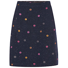 Buy White Stuff Sternhill Speck Skirt, Czech Navy Online at johnlewis.com