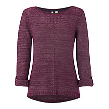 Buy White Stuff Vacay Jumper, Mon Purple Online at johnlewis.com