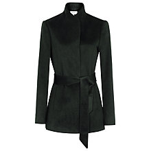 Buy Reiss Reema Belted Jacket, Olive Online at johnlewis.com