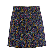 Buy White Stuff Tyrell Print Skirt, Pear Green/Multi Online at johnlewis.com