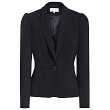 Buy Reiss Vanda Textured Blazer, Night Navy Online at johnlewis.com