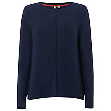Buy White Stuff Wagtail Jumper, Navy Online at johnlewis.com