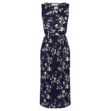 Buy Oasis Sashiko Printed Dress, Navy Online at johnlewis.com