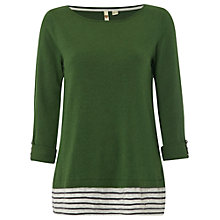 Buy White Stuff League Jumper, Kale Green Online at johnlewis.com