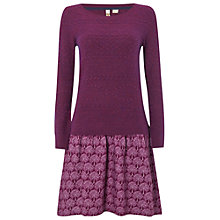 Buy White Stuff Twirling Dress, Pansy Purple Online at johnlewis.com