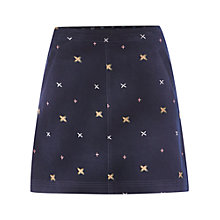 Buy White Stuff Top Notch Skirt, Peckham Blue Online at johnlewis.com