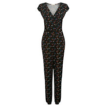 Buy Oasis Ditsy Print Jumpsuit, Multi/Red Online at johnlewis.com