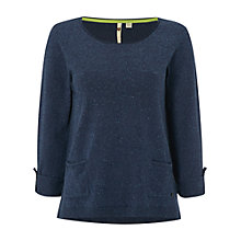 Buy White Stuff Nightingale Jumper, Navy Online at johnlewis.com