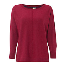 Buy White Stuff Hedgehog Jumper, Orchid Purple Online at johnlewis.com