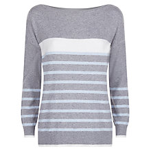 Buy Fenn Wright Manson Zeus Jumper, Grey/Stripe Online at johnlewis.com