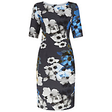 Buy Fenn Wright Manson Flower Print Aquarius Dress, Grey Online at johnlewis.com