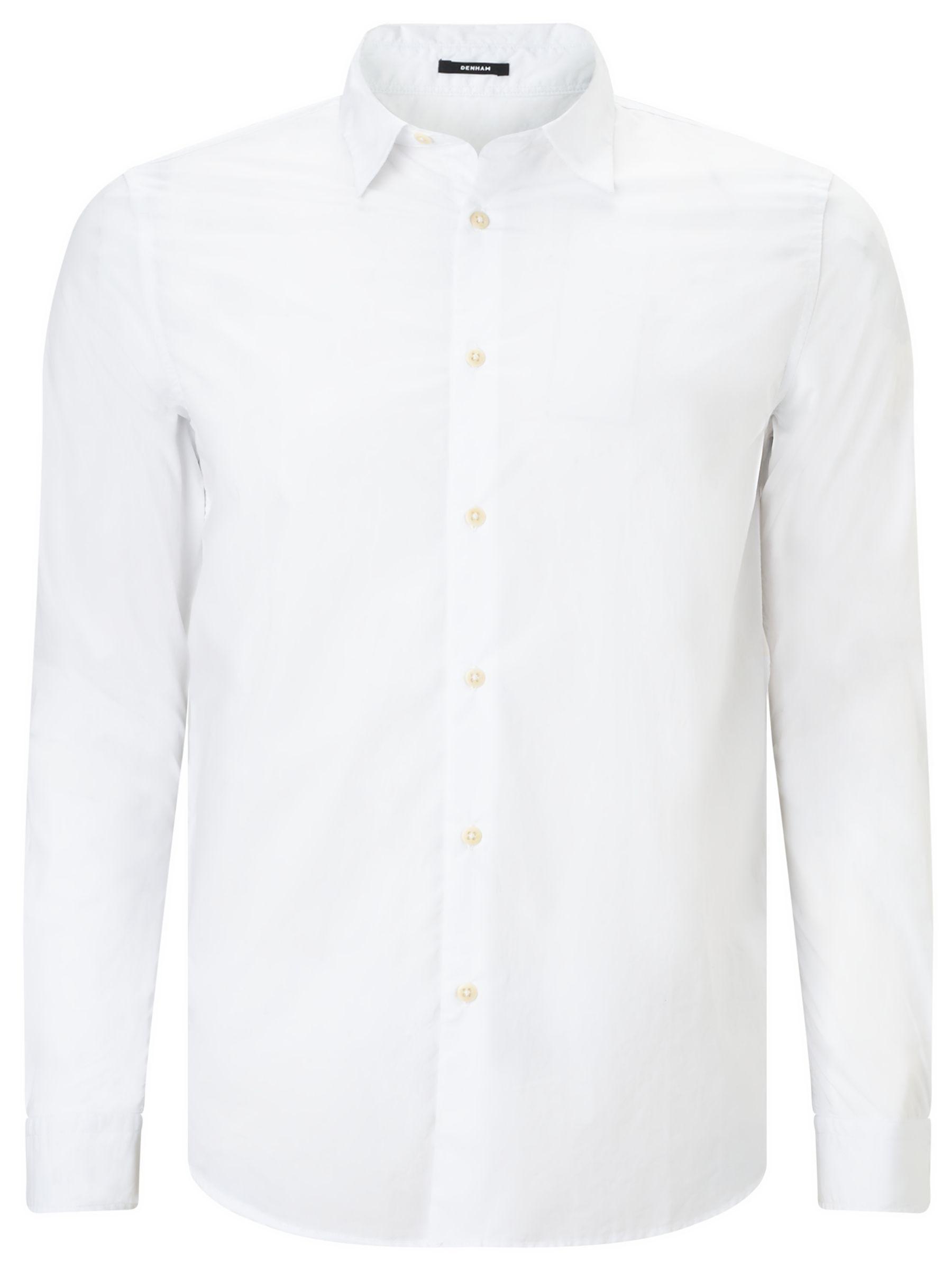 Denham Denham Pack Shirt, Bone White