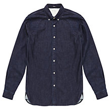 Buy Denham Rhys Denim Shirt, Dark Indigo Online at johnlewis.com