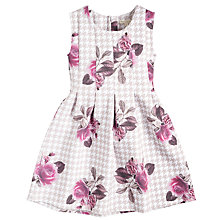Buy Angel & Rocket Girls' Scuba Floral Dress, Pink Online at johnlewis.com
