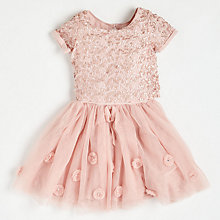 Buy Angel & Rocket Girls' Sequin Bodice Dress Online at johnlewis.com