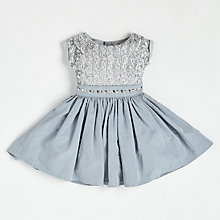 Buy Angel & Rocket Girls' Sequin Dress, Grey Online at johnlewis.com