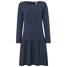 Buy White Stuff Gold Square Knit Dress, Peckham Blue Online at johnlewis.com