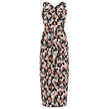 Buy Warehouse Diamond Ikat Dress, Multi Online at johnlewis.com