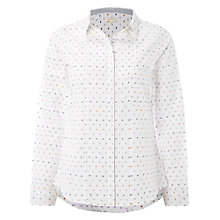 Buy White Stuff Czech It Out Shirt, White Online at johnlewis.com