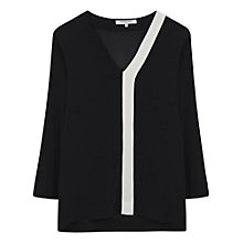 Buy Gerard Darel Blackbird Blouse, Black Online at johnlewis.com